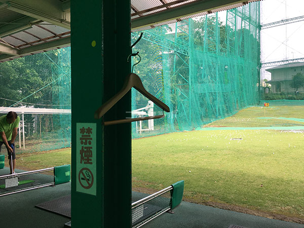 南中野ゴルフセンターのハンガー