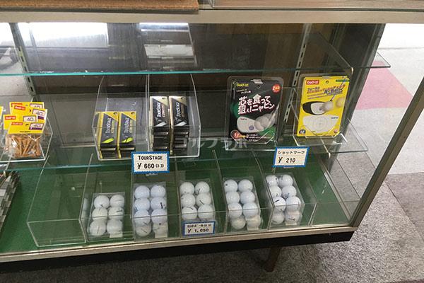 南中野ゴルフセンターのプロショップ