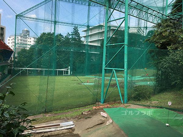 南中野ゴルフセンターのバンカー練習場