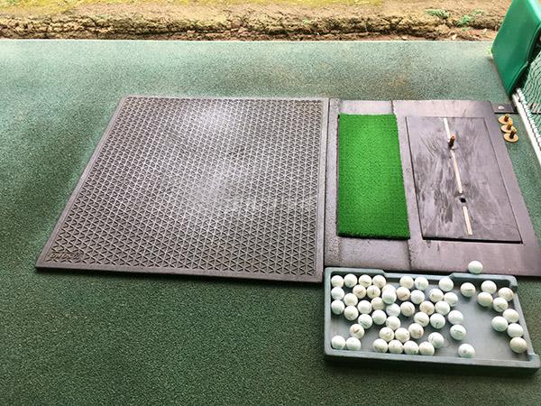南中野ゴルフセンターの打席
