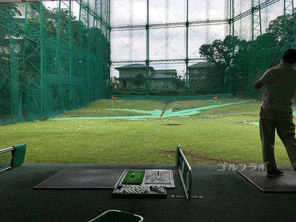 南中野ゴルフセンターのドライビングレンジ
