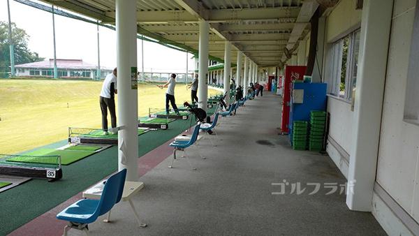 おゆみ野ゴルフガーデンの打席