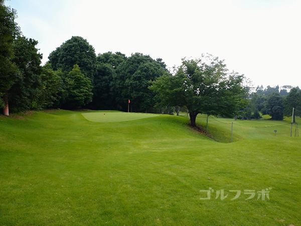 ダイナミックゴルフ千葉のショートホールのアプローチ練習場