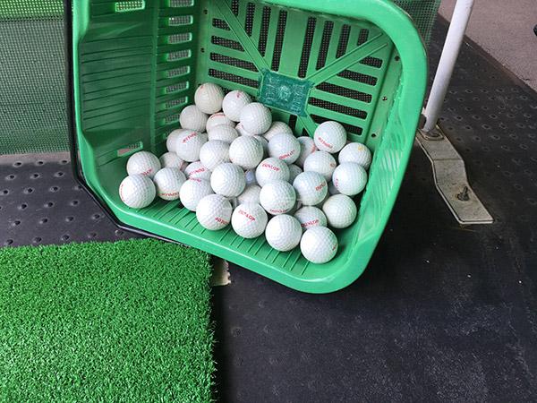 駒ゴルフガーデンのボール