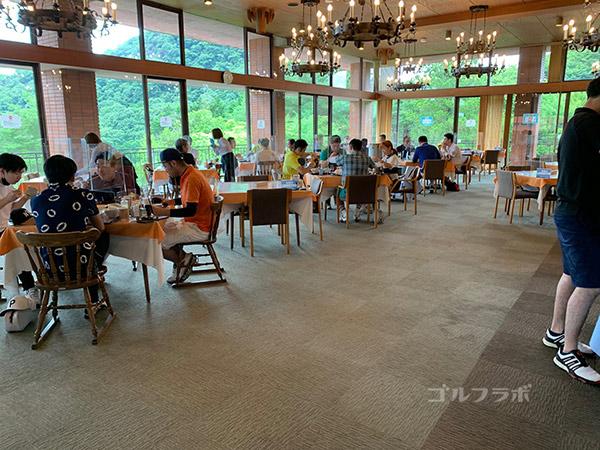 広陵カントリークラブのレストラン