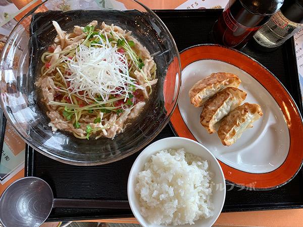 広陵カントリークラブの広陵定食
