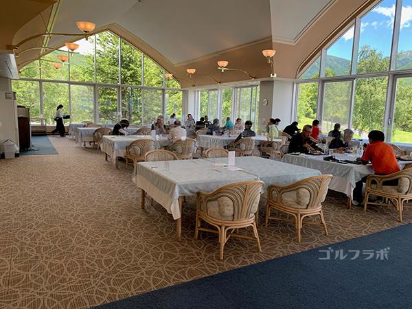 フォレストカントリークラブ三井の森のレストラン