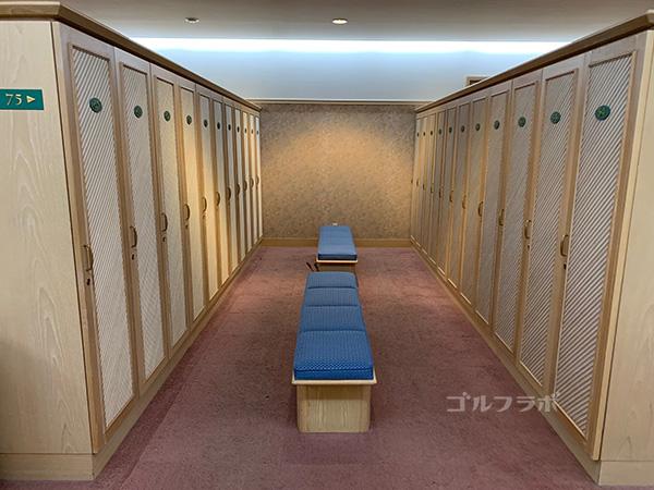 フォレストカントリークラブ三井の森のロッカー