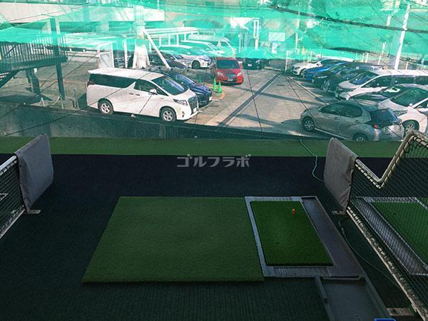 巣鴨スポーツセンターゴルフ練習場の打席