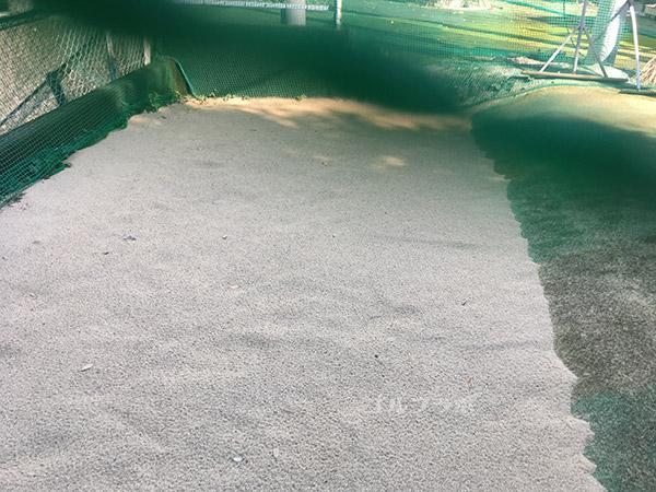 巣鴨スポーツセンターゴルフ練習場のバンカー