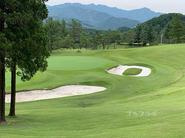 ユニオンエースゴルフクラブの南コース2番ホール