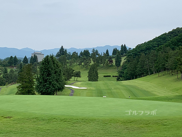 ユニオンエースゴルフクラブの南コース3番ホール