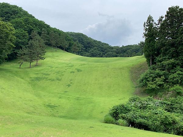 ユニオンエースゴルフクラブの南コース4番ホール