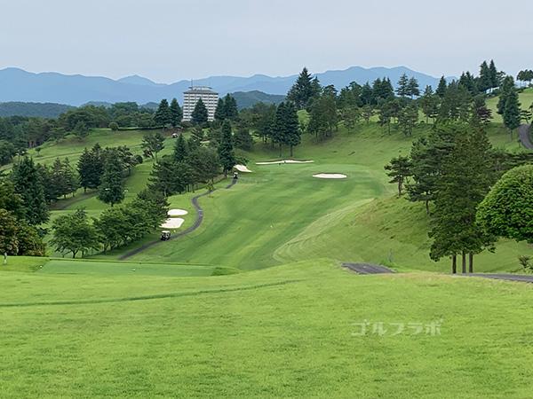 ユニオンエースゴルフクラブの南コース6番ホール