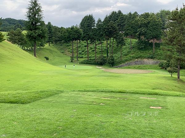 ユニオンエースゴルフクラブの南コース7番ホール