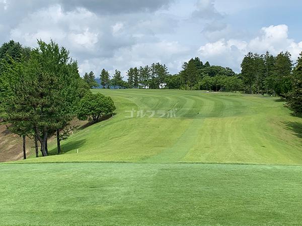 ユニオンエースゴルフクラブの2番ホール