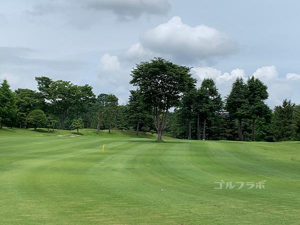 ユニオンエースゴルフクラブの3番ホール