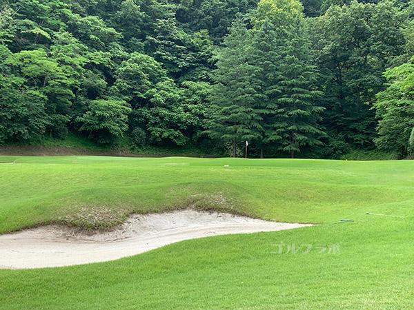 ユニオンエースゴルフクラブの4番ホール