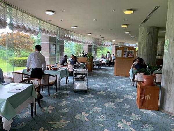 ユニオンエースゴルフクラブのレストラン