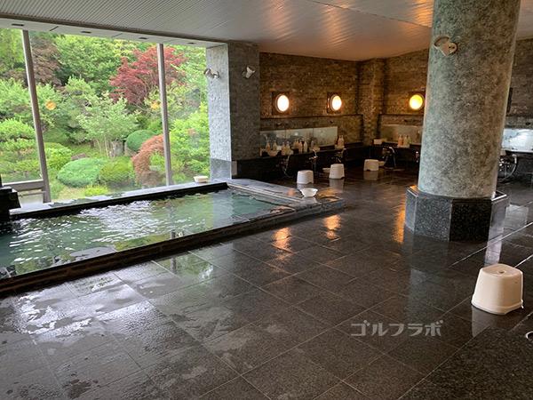 ユニオンエースゴルフクラブのお風呂