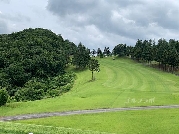 ユニオンエースゴルフクラブの6番ホール