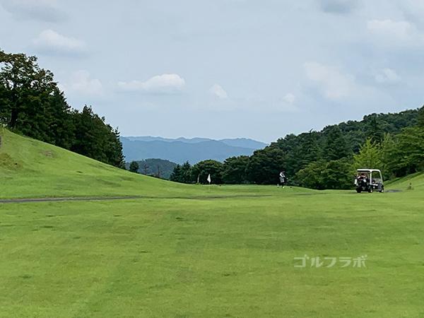 ユニオンエースゴルフクラブの7番ホール