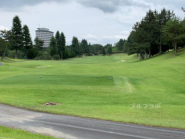 ユニオンエースゴルフクラブの9番ホール
