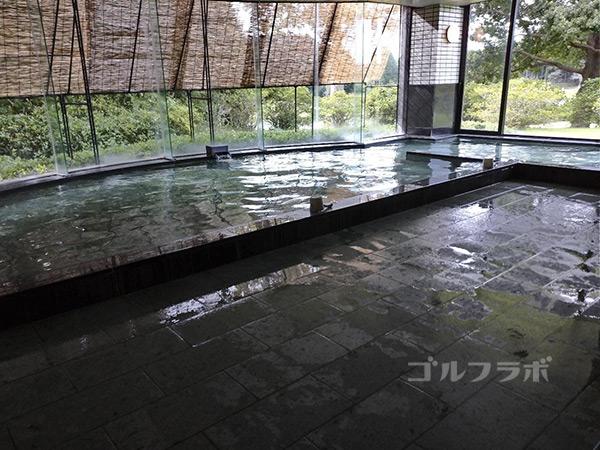 カレドニアン・ゴルフクラブのお風呂