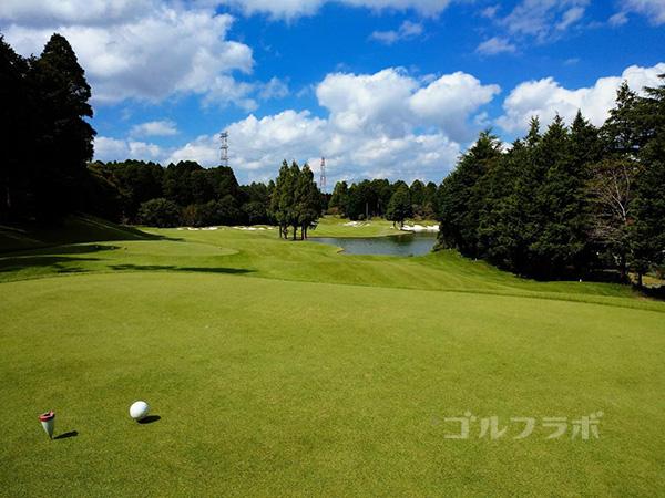 カレドニアン・ゴルフクラブの13番ホール