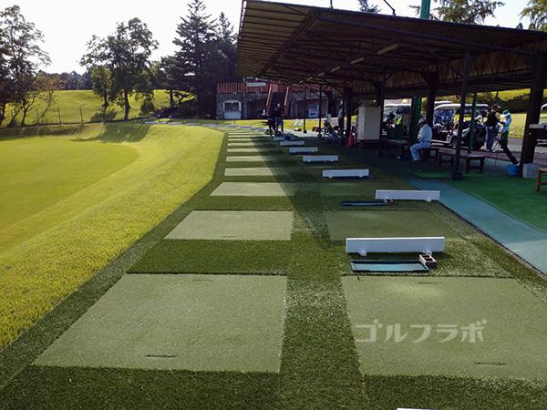 カレドニアン・ゴルフクラブの練習場
