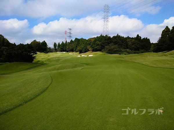 カレドニアン・ゴルフクラブの2番ホール