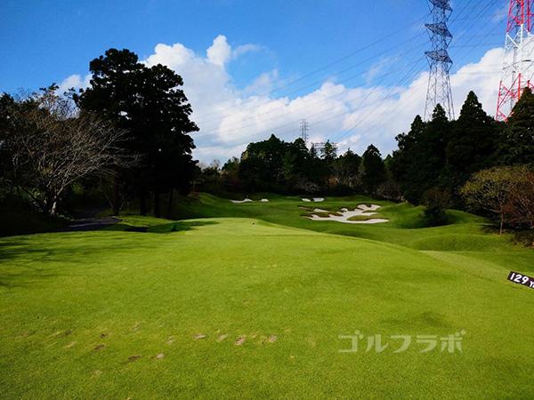 カレドニアン・ゴルフクラブの3番ホール