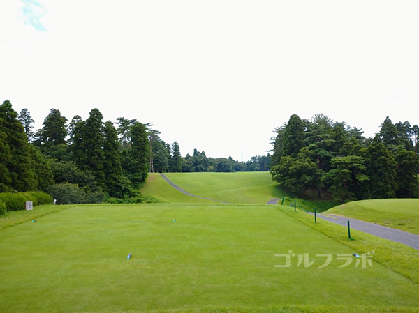 京葉カントリー倶楽部の10番ホール