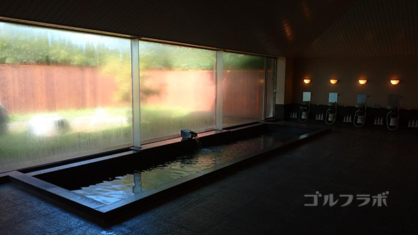 京葉カントリー倶楽部のお風呂