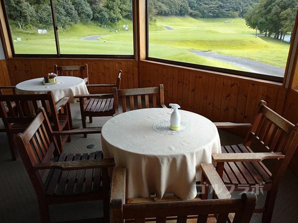 成田フェアフィールドゴルフクラブの茶店
