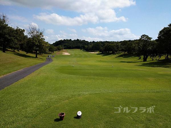 成田フェアフィールドゴルフクラブの11番ホール