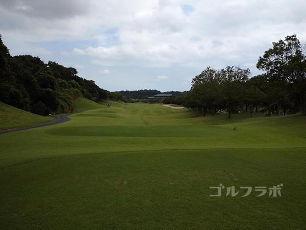 成田フェアフィールドゴルフクラブの14番ホール