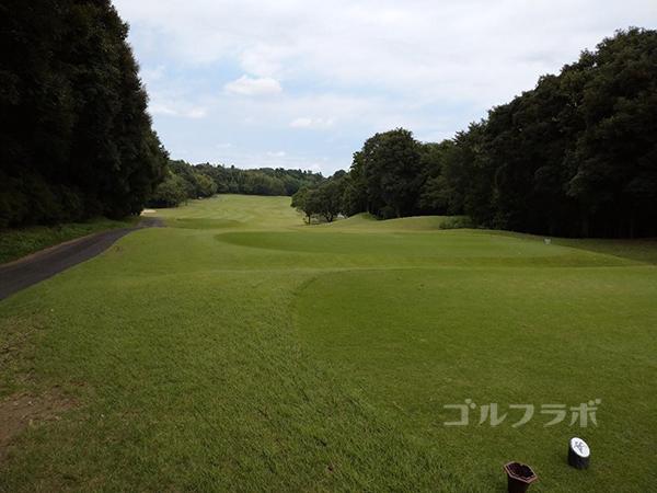 成田フェアフィールドゴルフクラブの17番ホール