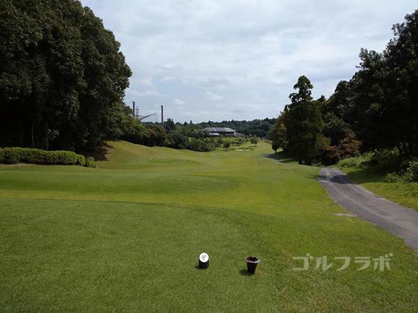 成田フェアフィールドゴルフクラブの18番ホール