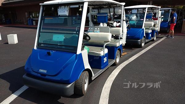 成田フェアフィールドゴルフクラブのカート