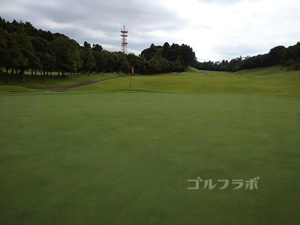 成田フェアフィールドゴルフクラブの5番ホール