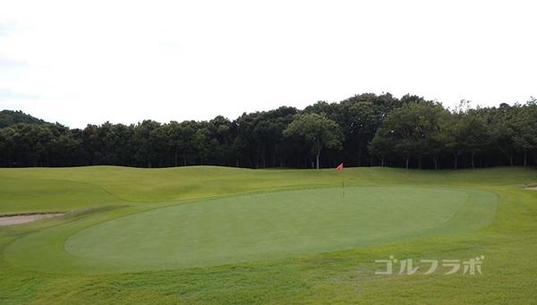 成田フェアフィールドゴルフクラブの6番ホール