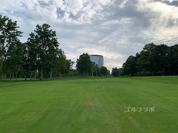 ニセコビレッジゴルフコースの10番ホール