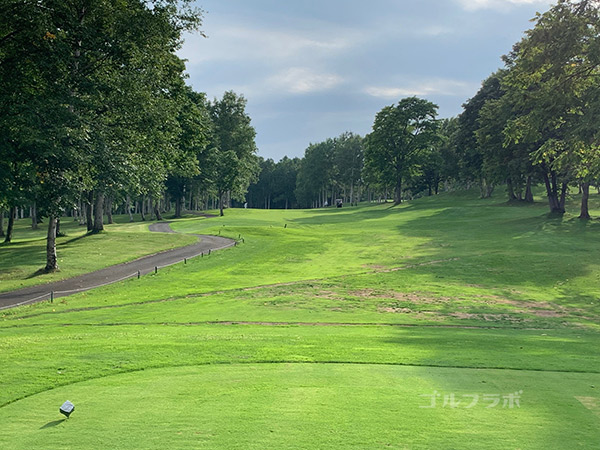 ニセコビレッジゴルフコースの12番ホール