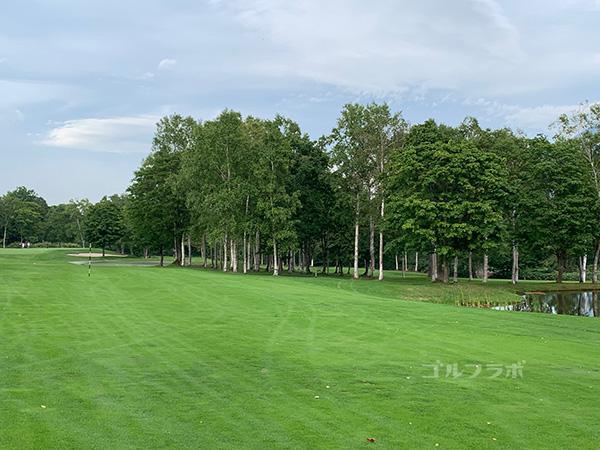 ニセコビレッジゴルフコースの15番ホール