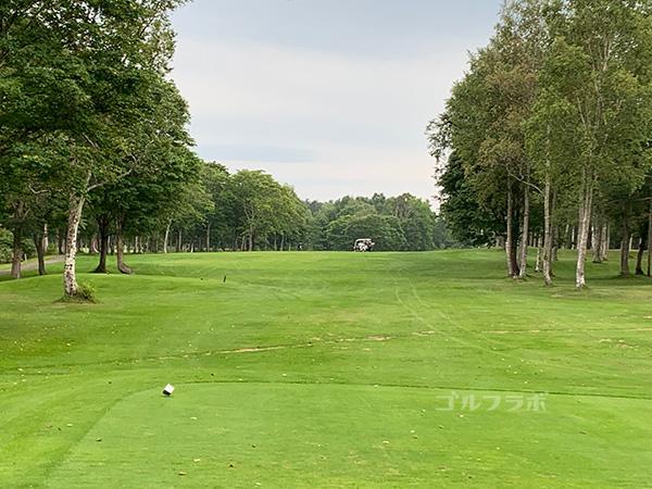 ニセコビレッジゴルフコースの16番ホール