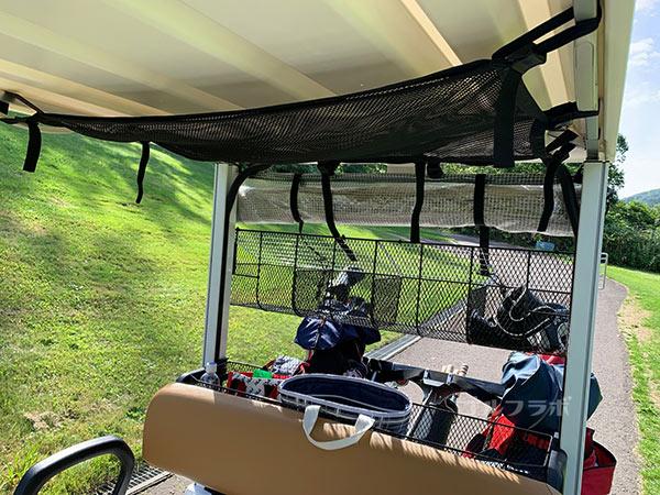 ニセコビレッジゴルフコースのカート
