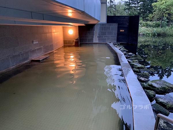 ニセコビレッジゴルフコースの温泉