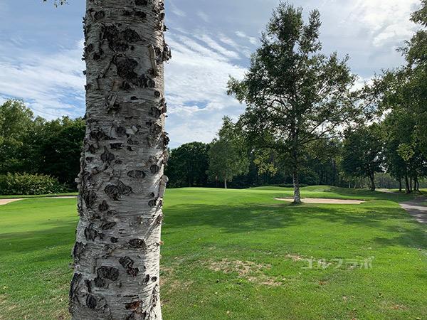 ニセコビレッジゴルフコースの7番ホール