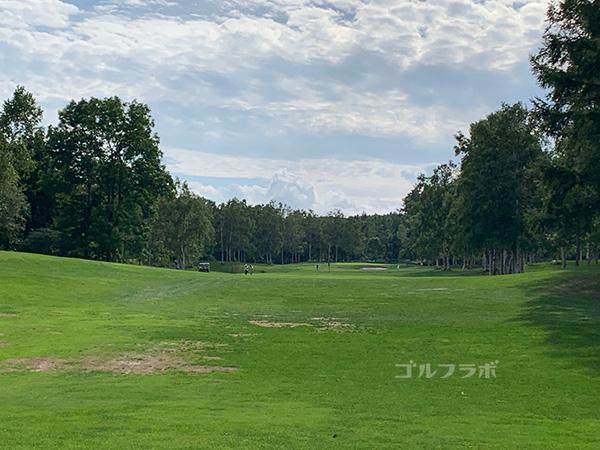 ニセコビレッジゴルフコースの9番ホール